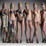 Photo de nue et habillee
