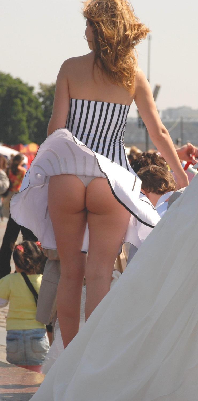 Vent sauter la jupe