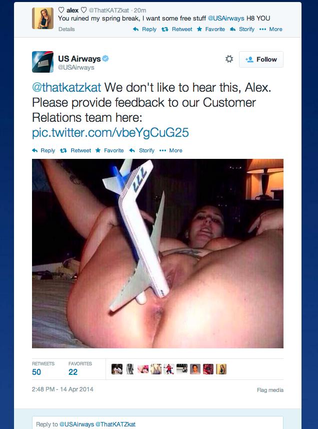 Porno dans un avion