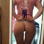 selfie de fesses